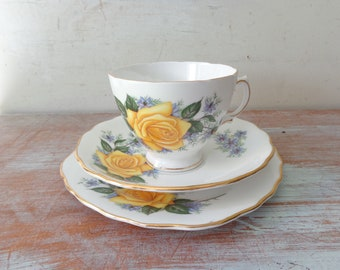 Vintage Royal Vale Trio - Plate, Saucer and Tea Cup