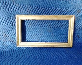 Rectangular Gold Vintage Frame #13