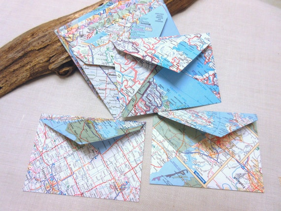 World map envelopes wedding invitation envelopes greeting card world map envelopes wedding invitation envelopes greeting card envelopes size 4 34 x 3 14 inch set of 10 from tenandbelow on etsy studio m4hsunfo