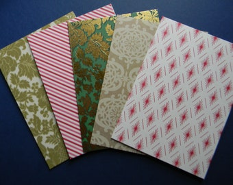 Assorted Christmas Card Bases and Envelopes (585)
