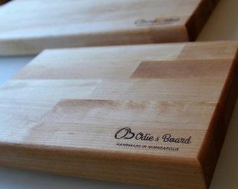 Birch Cutting Board Chopping Block
