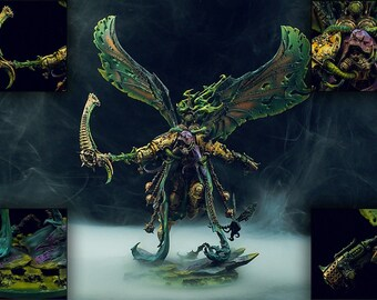 Mortarion Daemon Primarch of Nurgle - Warhammer 40k Painted Commission
