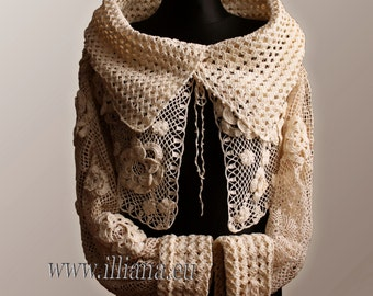 Crochet Pattern /  Cardigan  No 220