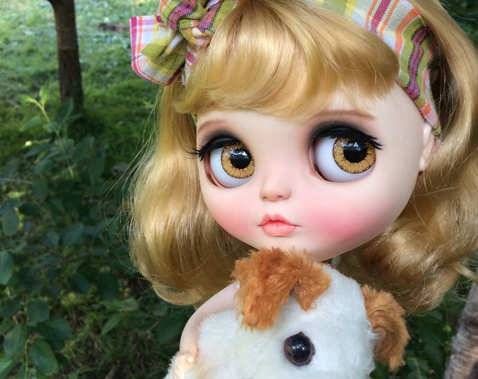 "Custom Blythe Doll OOAK Artdoll ""Suok"" by LarisaKS, Suok-Dolls"