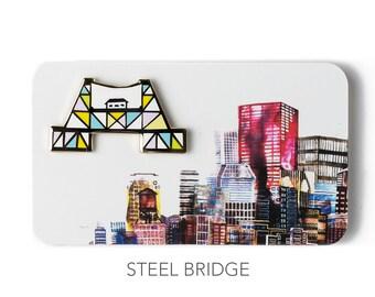 UB Enamel Bridge Pins