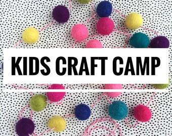 Kids Craft Camp 2018