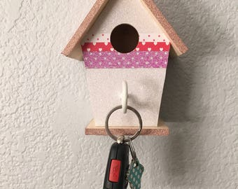 Beautiful Birdhouse Keyhook