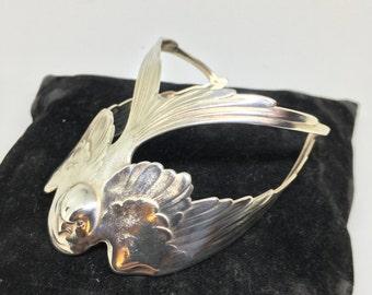 Swallow Cuff Bracelet