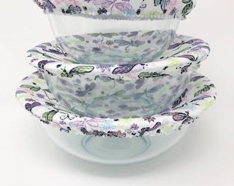 Reusable Bowl Covers, Dragonflies