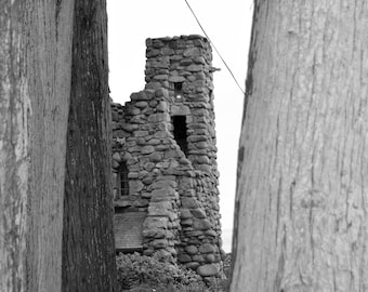 Architectural Photography Wall Art Canvis Large Hawk Tower Carmel-by-the-Sea