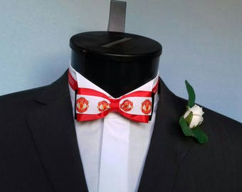 Manchester United Groom's Wedding Bow Tie