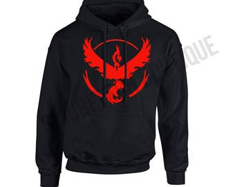 POKEMON GO - Team VALOR Hooded Sweater/Sweatshirt