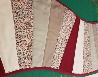Quilted Wavy Wedge Table Runner