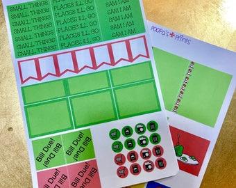 Dr. Seuss Planner Stickers, Erin Condren, Happy Planner, Day Designer!