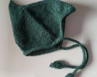 Leaf Pixie Baby Hat