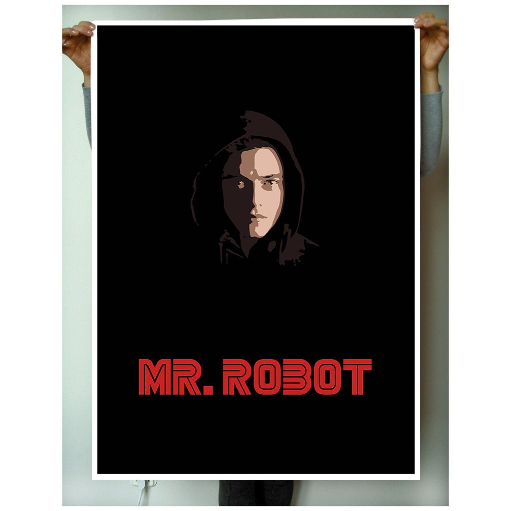 Mr. Robot Poster Programming movie Universal Spaceman Mind