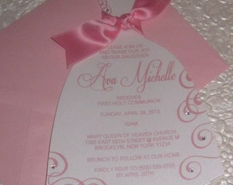 Communion Invitation, Baptism Invitation, Confirmation Invitation