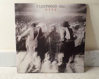 Vintage 1980 Vinyl LP Record Set Fleetwood Mac Live Excellent Condition 14752