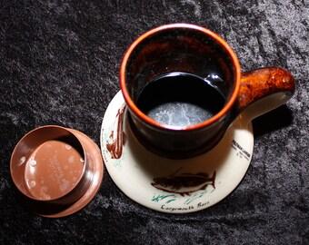 Vintage Feltman-Langer 1984 Ceramic Travel Mug