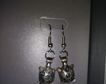 Turtle earrings