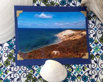 Handmade 4 California Coast Photo cards w/ 5x7 envelope (#1-4)