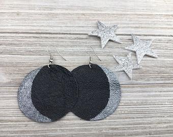 Crescent Moon Earrings | Boho Moon, Moon Boho, Moon Phase Earrings, Lunar Earrings, Luna Earrings, Earrings Lunar, Earrings Crescent Moon