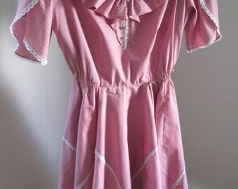 Square Dance Dress, Partners Please, Size 10, Vintage