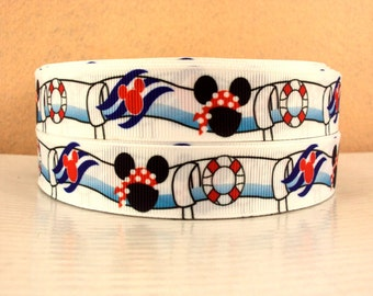 5 YDS Mickey Mouse Aquaduck Ribbon
