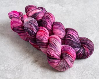 This Is Not A Love Song - Hand Dyed Merino/Nylon 1 skein 100g