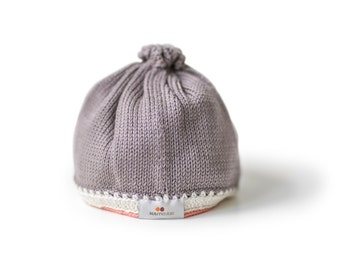 Tranquility Baby Hat: Mauve