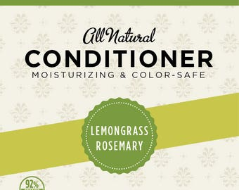 Lemongrass Rosemary Conditioner (Trial Size)