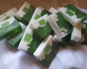 Handmade Bath Soap - Aloe Vera Lemon