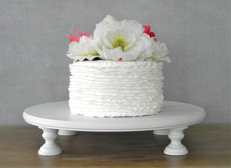 20 Cake Stand Round Wedding Cupcake White