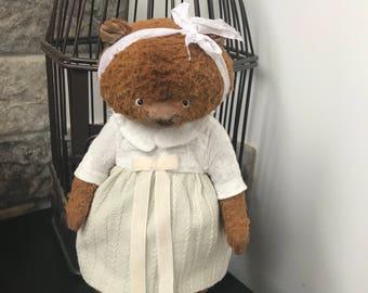 Teddy bear  ooak Hand made bear
