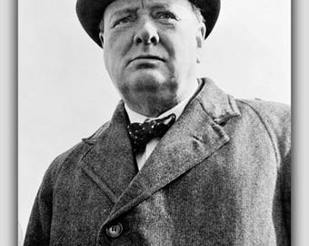 Poster, Many Sizes Available; Sir Winston Churchill P2