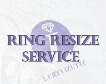 Ring resize service - up to 2 sizes
