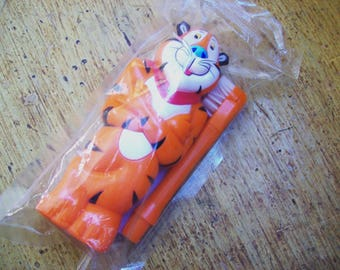 Tony the Tiger toothbrush, childs toothbrush
