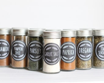 CUSTOM 2 Inch Spice Labels