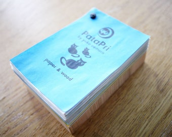 PataPri 10th anniversary Special Notepads