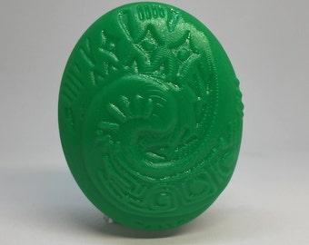 Heart of Te Fiti 3D Printed Magnet