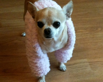 Immediate Download - PDF Knitting Patten for Chiquita's Elegant Chihuahua Shrug