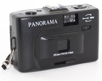 Panorama / Panoramic 'Toy-Style' Film Camera 35mm with strap - Very good condition