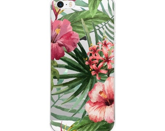 Iphone 6 Case Clear, Iphone 6 Case Tropical, Iphone 5s Case Hipster, Iphone Case Clear, Iphone 5 Case Tropical, Tropical Phone Case