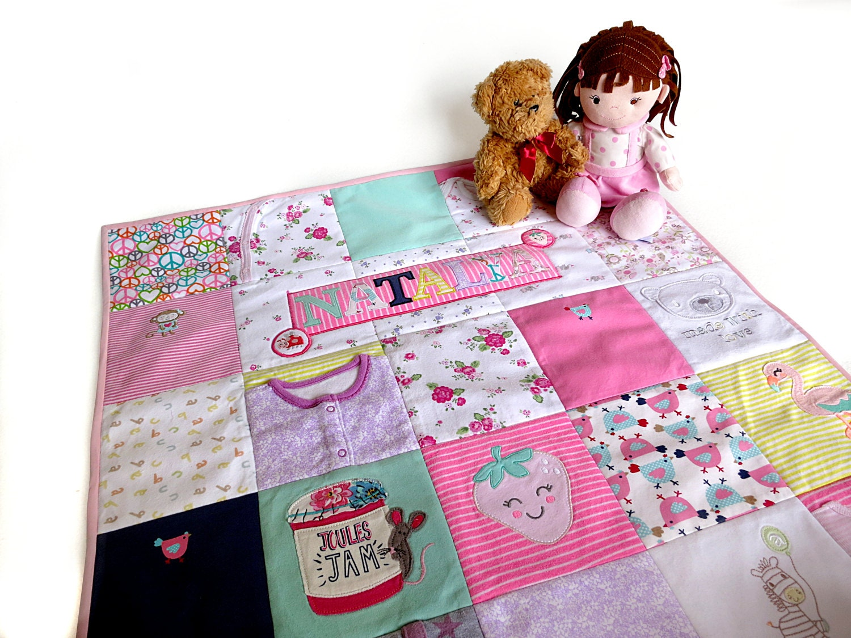 Personalized Memory Quilt Keepsake Blankets Memory Blanket