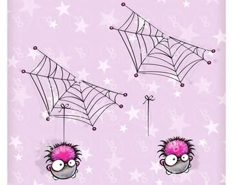 """Digi Stamp Set """"itty-bitty Spider"""""""