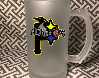 Pittsburgh Sports Team Trilogo Frosted Mug