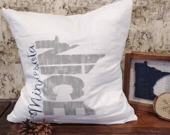 "MN State Pillow (20"" x 20"")"