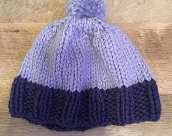 Shades of Blue Winter Hat