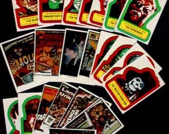 Universal Monster Sticker Set - 1980