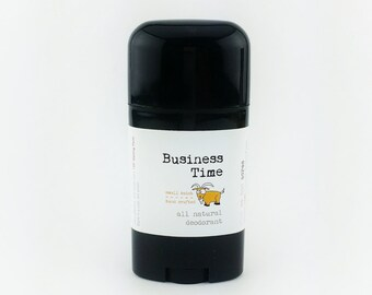 Business Time All Natural Deodorant